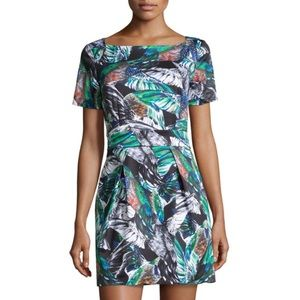 French Connection Feather Print Dress